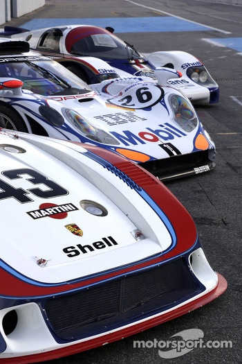 Porsches of Le Mans