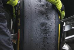 Pirelli tires, McLaren Mercedes