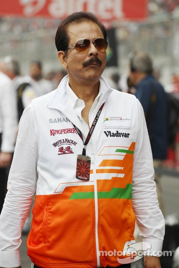 Subrata Roy Sahara, Sahara Chairman on the grid