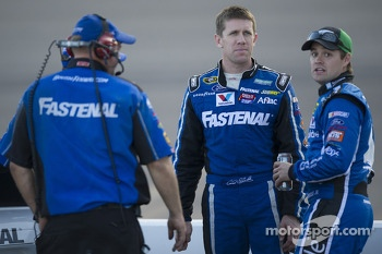 Carl Edwards and Ricky Stenhouse Jr.