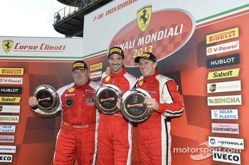 North America Coppa Shell podium race 2