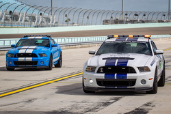 Pace car rides with Sam Hornish Jr. and Aric Almirola, Richard Petty Motorsports Ford
