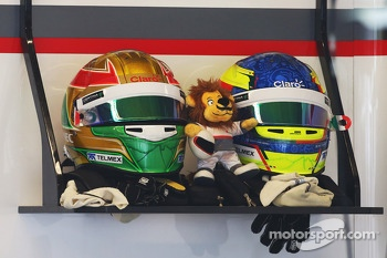 The helmets of Esteban Gutierrez, Sauber