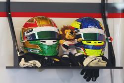 The helmets of Esteban Gutierrez, Sauber