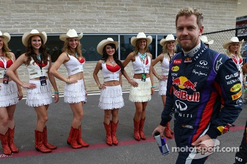 Pole for Sebastian Vettel, Red Bull Racing