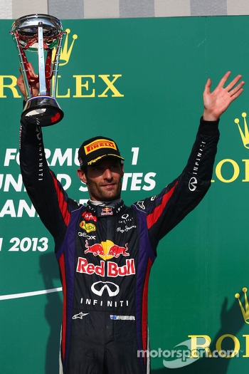 3rd place Mark Webber, Red Bull Racing