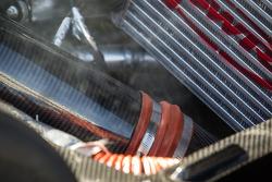 #60 Michael Shank Racing Riley Ford EcoBoost V6 engine detail