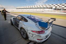 #30 NGT Motorsport Porsche GT America: Jakub Giermaziak, Christina Nielsen, Alex Müller, Dennis Trebing