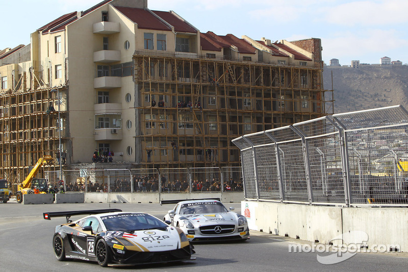 #25 Grasser Racing Lamborghini LP560-4: Hari Proczyk, Dominik Baumann