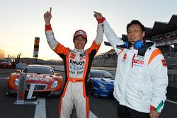 GT500 winner Kazuya Oshima