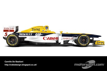 Retro F1 - Williams 1989