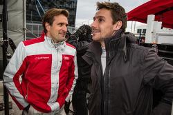 Markus Winkelhock and Filipe Albuquerque