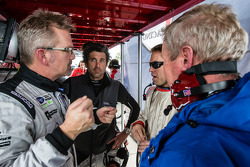 Joe Foster, Patrick Dempsey, Andrew Davis and Hurley Haywood