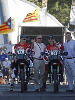 #44 Speedbrain: Pedro Oliveira and #38 Speedbrain: Jeremias Israel