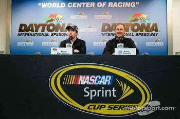 Brad Keselowski, Team Penske Ford and Rusty Wallace
