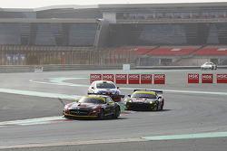 #1 Team Abu Dhabi by Black Falcon Mercedes SLS AMG GT3: Khaled Al Qubaisi, Jeroen Bleekemolen, Bernd Schneider, Andreas Simonsen