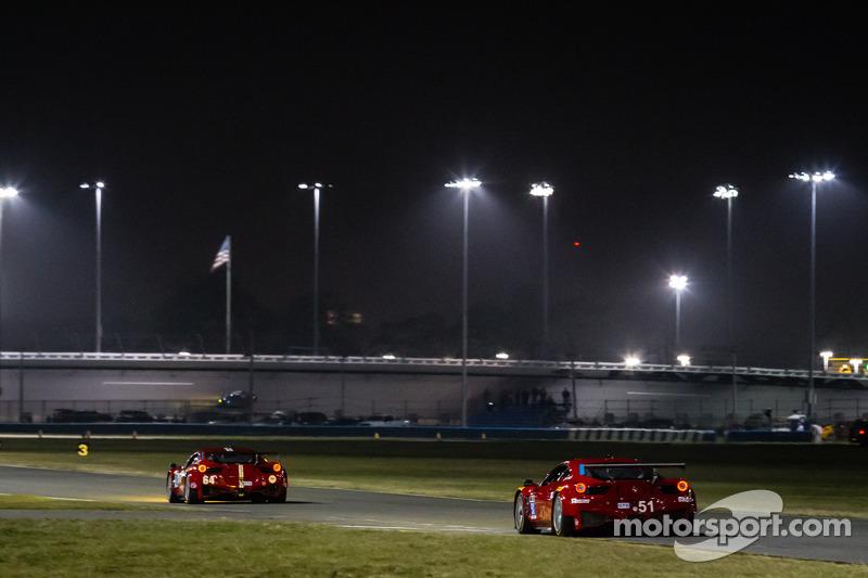 #51 Spirit of Race Ferrari 458 Italia: Matt Griffin, Marco Cioci, Michele Rugolo