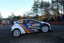 Francois Delecour and Dominique Savignoni, Ford Fiesta WRC