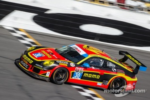 #30 NGT Motorsport Porsche 911 GT America: Henrique Cisneros, Christina Nielsen, Nicki Thiim, Kuba Giermaziak