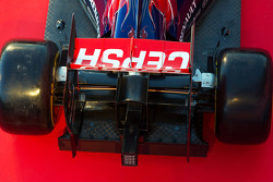 Scuderia Toro Rosso STR9 rear wing detail