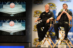 NASCAR-CUP: Gene Haas and Tony Stewart
