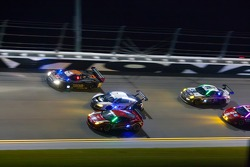 Racing action