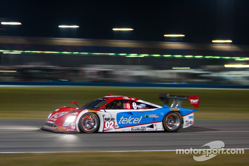 #02 Chip Ganassi Racing Riley DP Ford EcoBoost: Tony Kanaan, Kyle Larson, Marino Franchitti, Scott Dixon