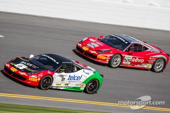 Ricardo Perez, Ferrari of Houston and Scott Tucker, Boardwalk Ferrari