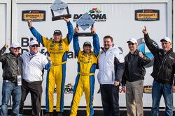 GS podium: race winners Bill Auberlen and Paul Dalla Lana