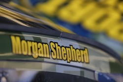 NASCAR-CUP: Morgan Shepherd, Victory with Jesus Toyota