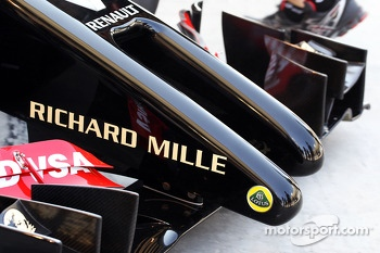 Romain Grosjean, Lotus F1 E22 nosecone detail