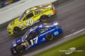 Ricky Stenhouse Jr. and Matt Kenseth