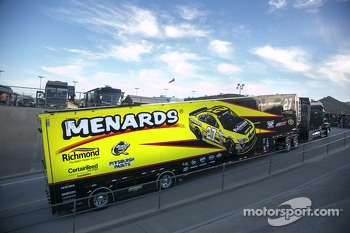 Hauler of Paul Menard