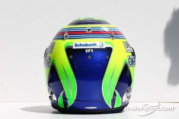 The helmet of Felipe Massa, Williams