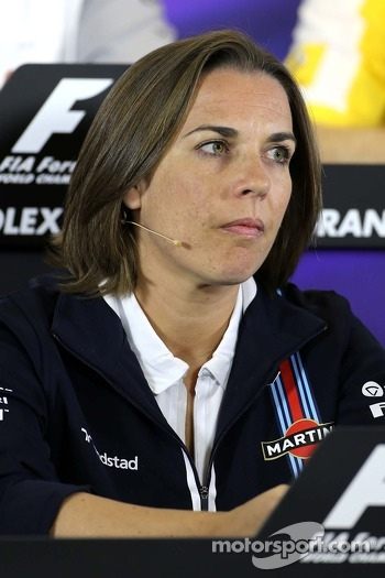 Calire Williams, Williams F1 Team