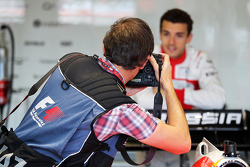 Jules Bianchi, Marussia F1 Team photographed by Russell Batchelor, XPB Images Photographer