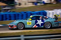 #74 Kelly-MossRacing Porsche 997 GT3 Cup Car: WilliamPeluchiwski