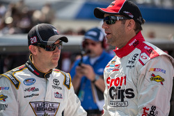 Matt Kenseth and Elliott Sadler
