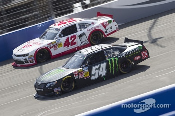 Kyle Busch and Kyle Larson