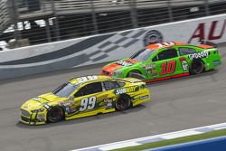 Carl Edwards and Danica Patrick