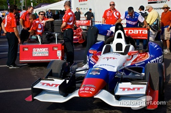 Car of Ryan Briscoe, Chip Ganassi Racing Chevrolet