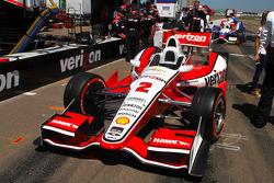 Car of Juan Pablo Montoya, Team Penske Chevrolet