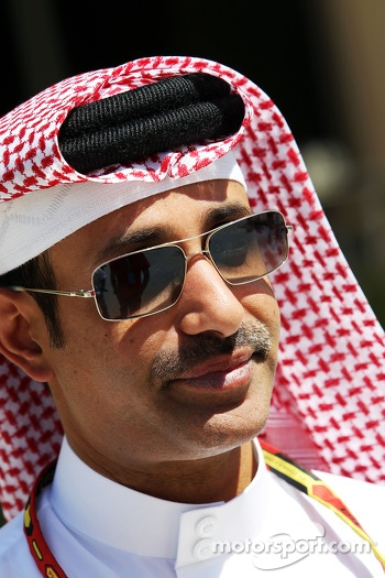 Sheikh Salman bin Isa Al-Khalifa, Chief Executive of Bahrain International Circuit