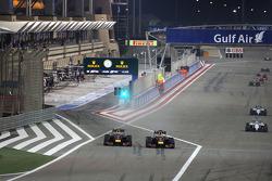 Sebastian Vettel, Red Bull Racing and Daniel Ricciardo, Red Bull Racing  06