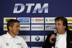 Bernd Schneider and Frank Biela