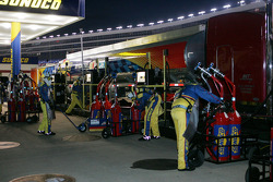 Refueling station during the O'Reilly Auto Parts 300