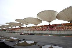 Sebastian Vettel, Red Bull Racing and Jean-Eric Vergne, Scuderia Toro Rosso