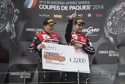 Pit stop challenge winners #3 G-Drive Racing Audi R8 LMS Ultra