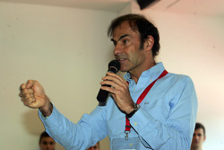 Press conference: the evolution of safety in F1, Emanuele Pirro