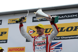 Round 8 Race winner Gordon Shedden